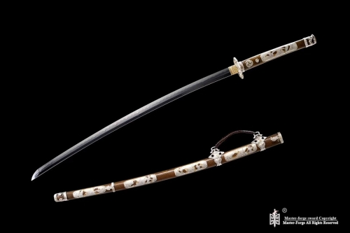 Battle Ready Japanese Clay Tempered L6 Steel Blade Wakizashi Sword Razor Sharp